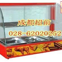 供应成都食品保温柜展示柜弧形展示柜豪华型双层保温柜豪华型三层保温批发