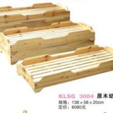 供应石家庄幼儿园实木床布床