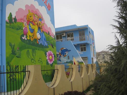 幼儿园装饰您想到手绘墙了吗? 大连墙绘墙画彩绘壁画手绘墙