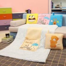 供应砂糖兔方形抱枕空调被 最流行的抱枕空调被生产商,供应商