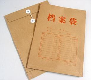 加工档案袋图片
