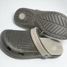 供应EVA网眼双层花园鞋男鞋混搭配色可拆洗新款洞洞鞋沙滩拖鞋批发