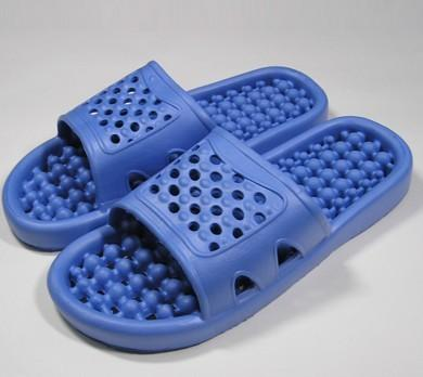 室内拖鞋图片|室内拖鞋样板图|eva浴室镂空按摩拖鞋