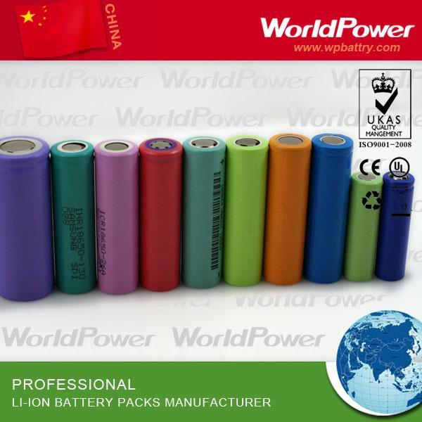 手电筒锂离子电池