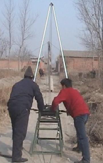 湖北三角架立杆机人字扒杆销售