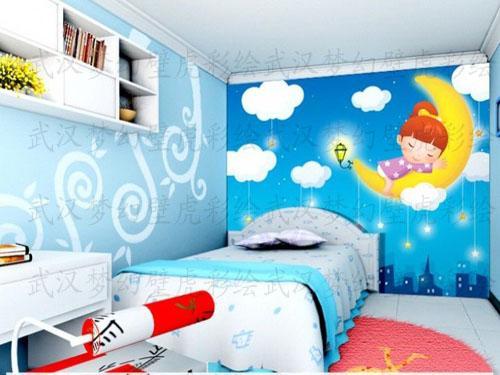 武汉儿童房手绘装饰_武汉儿童房手绘装饰供货商