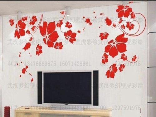 武汉手绘壁画艺术图片