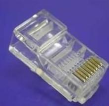 供应五金塑胶配件,网络塑胶接头,网络水晶接头,