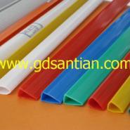 塑料抽杆条PVC条塑料装订夹图片