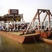 磁板船大型磁板船高效选铁船图片