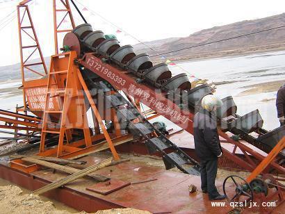 供应挖沙船抽沙船磁选淘金设备咨询手机13780819070