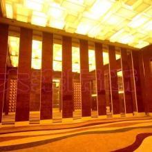供应余姚酒店会议室活动屏风包房移门 办公室隔断 装修隔断设计图片