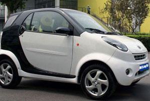 电动轿车图片 电动轿车样板图 飞马电动轿车 迪高清图片