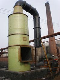 供应ZTC-1型玻璃钢脱硫除尘器