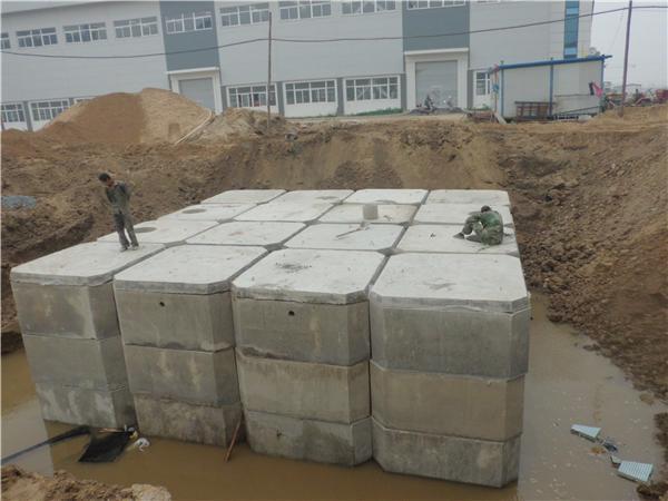 供应哈尔滨成品砼化粪池 图