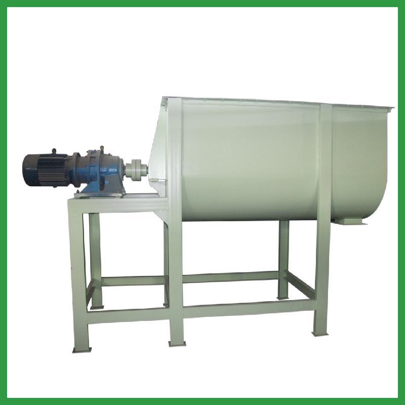 供应SLHY-500卧式单轴混合机饲料卧式单轴搅拌机饲料加工设备
