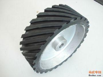 供应砂带机橡胶轮