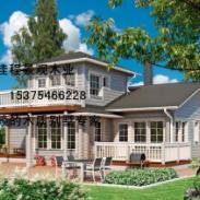 木屋图片木别墅木结构所设计安装花园别墅踏步石高端图片