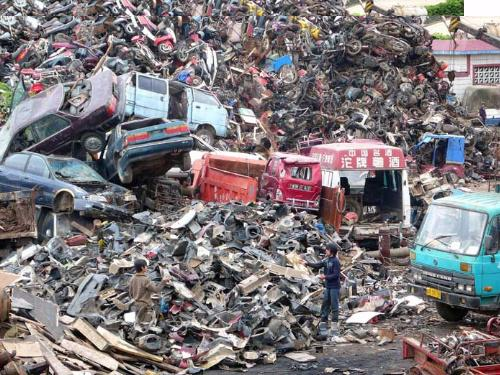 报废图片 报废样板图 汽车报废公司在那里 成都报废机动车专营有限公高清图片
