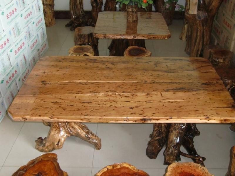 石家庄枣木根雕 枣木工艺品 茶几样板-枣木根雕 枣木根雕茶几图片大全