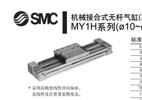 供应苏州SMC无杆气缸MY1B32-600特价大促销!!/MY1B3