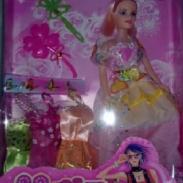 广东11寸空身芭比娃娃厂家直销图片
