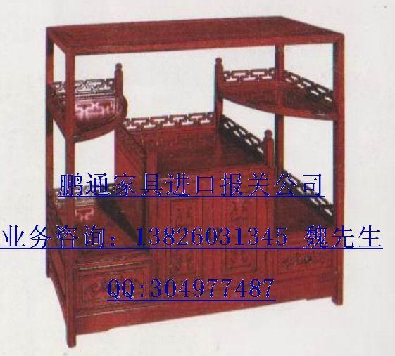 供应家具用品广州进口报关