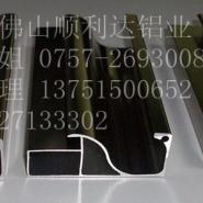顺利达铝业提供晶钢门铝材图片