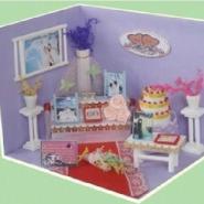 DIY童话小屋-3D爱情小景系图片