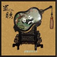熊猫蜀绣图片