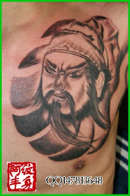 胳膊纹身图片_阿丰专业纹身产品图片