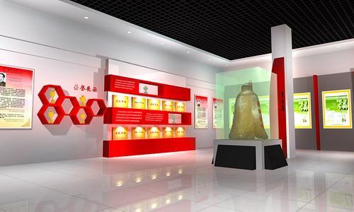 图片展厅驻马店海报设计制作|样板企业图|展厅展厅设计制作图片