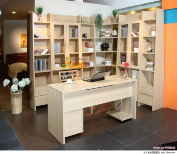 供应书柜样式/江西组合书柜订做多少钱?图片
