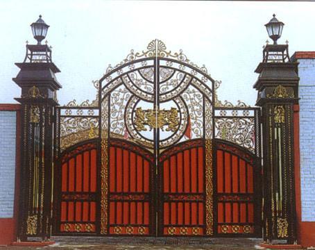 供应苏州铁艺门窗楼梯扶手栏杆围栏,无锡铁艺门窗楼梯栏杆围栏钢架围墙。
