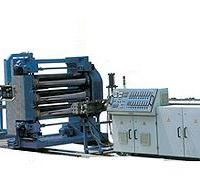 热收缩带套生产线塑料片材挤出机