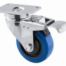 专业生产手推车万向轮航空箱脚轮图片