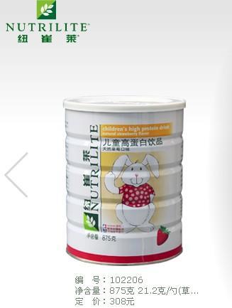 安利儿童蛋白质粉图片