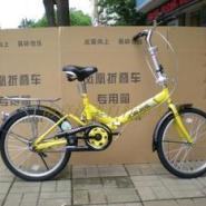 16寸折叠自行车图片