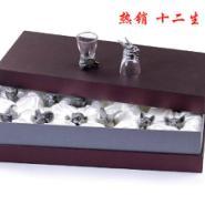 古锡十二生肖酒杯图片