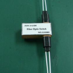 供應2×2光開關光纖傳感器及網絡測試系