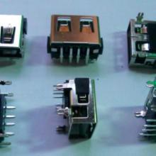 供应A母短体10mm插板USB无卷边带加强筋批发