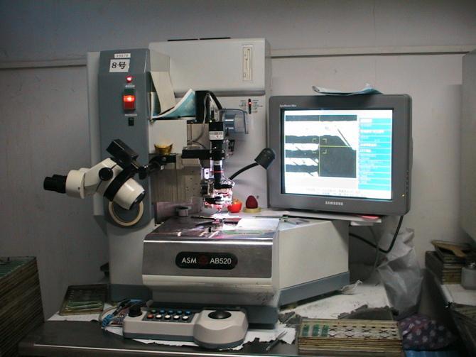 邦定机图片 邦定机样板图 邦定机器 深龙邦定配件行