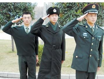 大衣样板图 07陆军夏常服07陆军常服大图片