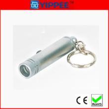 供应铝合金防水钥匙扣手电筒,迷你钥匙扣手电筒