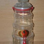 10斤手提塔形泡酒瓶图片