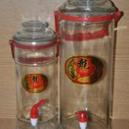 10斤手提直筒泡酒瓶图片