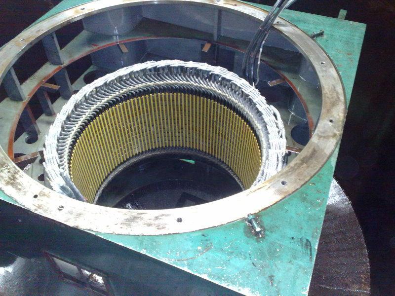 供应专业修理转子笼条/专业电机修理