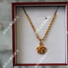 供应18K稀金盒装项链河北代理加盟,稀金饰品