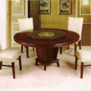 餐桌餐椅木制品酒店成套家具图片