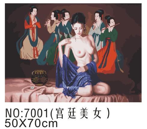 浙江金华宫廷美女5070cm生产供应商:专业生产宫廷